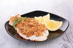 Crusted fish Royalty Free Stock Photo