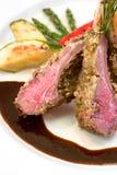Crusted Lamb Chops Royalty Free Stock Photo