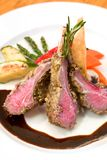 Crusted Lamb Chops Royalty Free Stock Photography