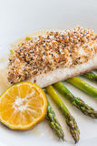 Crusted Mahi Mahi Stock Image