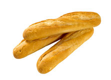 Crusty Baguettes Stock Image