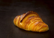 Crusty croissant Stock Photos