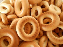 Crusty dough rings Royalty Free Stock Photography