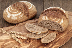 Crusty Fresh Bread Stock Photo