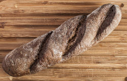 Crusty fresh homemade rye bread Stock Images