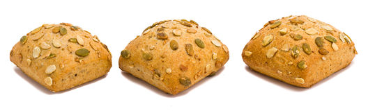Crusty homemade bread Stock Images