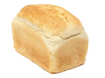 Crusty loaf of white bread close up Royalty Free Stock Photo