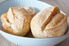 Crusty rolls German bread Royalty Free Stock Photos