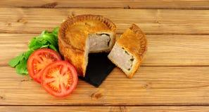 Crusty Savoury Pork Pie Royalty Free Stock Images