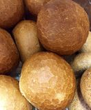 Crusty White Bread Rolls Royalty Free Stock Images