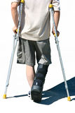 Crutch Royalty Free Stock Photos