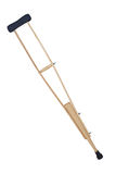Crutch from wood Stock Photo