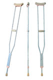 Crutches Royalty Free Stock Photos