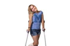 crutches fotografia de stock royalty free