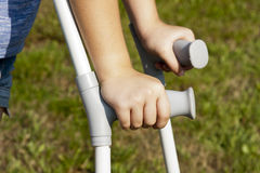 crutches Fotos de Stock Royalty Free