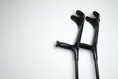 crutches Foto de Stock