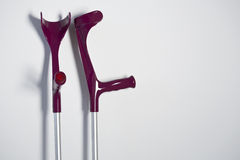 Crutches Royalty Free Stock Images