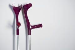 crutches imagens de stock royalty free