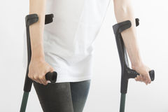 crutches imagem de stock