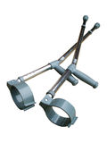 Crutches. A photo of a pair of Crutches Royalty Free Stock Photos