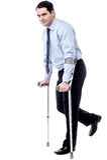 Crutches, help me to walk. stock photo
