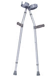 Crutches isolated clipping path Stock Image