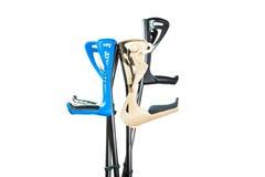 Crutches Royalty Free Stock Photo