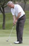 Cruyff på golf 026 Arkivbild
