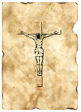 Cruz 2 do Jesus Cristo imagens de stock royalty free