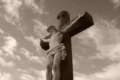A cruz Fotografia de Stock