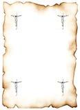 Cruz 3 do Jesus Cristo ilustração do vetor