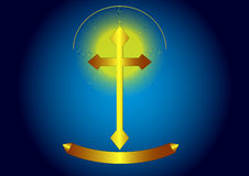 Cruz Imagen de archivo libre de regalías