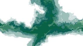 Cruz abstrata movente turbulenta da cor de Digitas que pinta a arte original nova da qualidade do fundo sem emenda da animação do ilustração royalty free