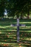 Cruz alemana negra de la guerra Imágenes de archivo libres de regalías