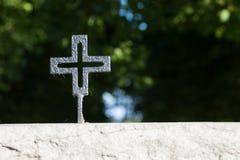 Cruz alemana negra de la guerra Fotografía de archivo libre de regalías