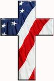 Cruz americana imágenes de archivo libres de regalías