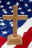 Cruz americana Foto de archivo
