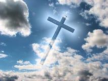 Cruz azul Fotos de archivo
