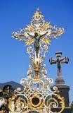 Cruz barroca Fotografia de Stock Royalty Free