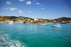Cruz Bay Royalty Free Stock Images