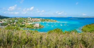 Cruz Bay Royalty Free Stock Images