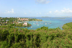 Cruz Bay, Saint John Island, US Virgin Islands Stock Photo