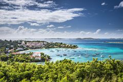 Cruz Bay, St John Royalty Free Stock Image