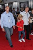 Cruz Beckham. At the 'Real Steel' World Premiere, Gibson Amphitheater, Universal City, CA 10-02-11 Stock Images