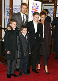 Cruz Beckham,Brooklyn Beckham Royalty Free Stock Photography