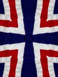 Cruz branca e azul vermelha Fotografia de Stock Royalty Free
