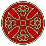 Cruz céltica Imagenes de archivo