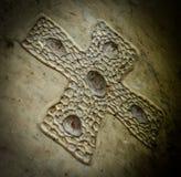 Cruz céltica antigua Imágenes de archivo libres de regalías