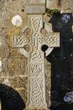 Cruz céltica en Irlanda Fotografía de archivo libre de regalías