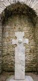 Cruz céltica Irlanda Fotografía de archivo
